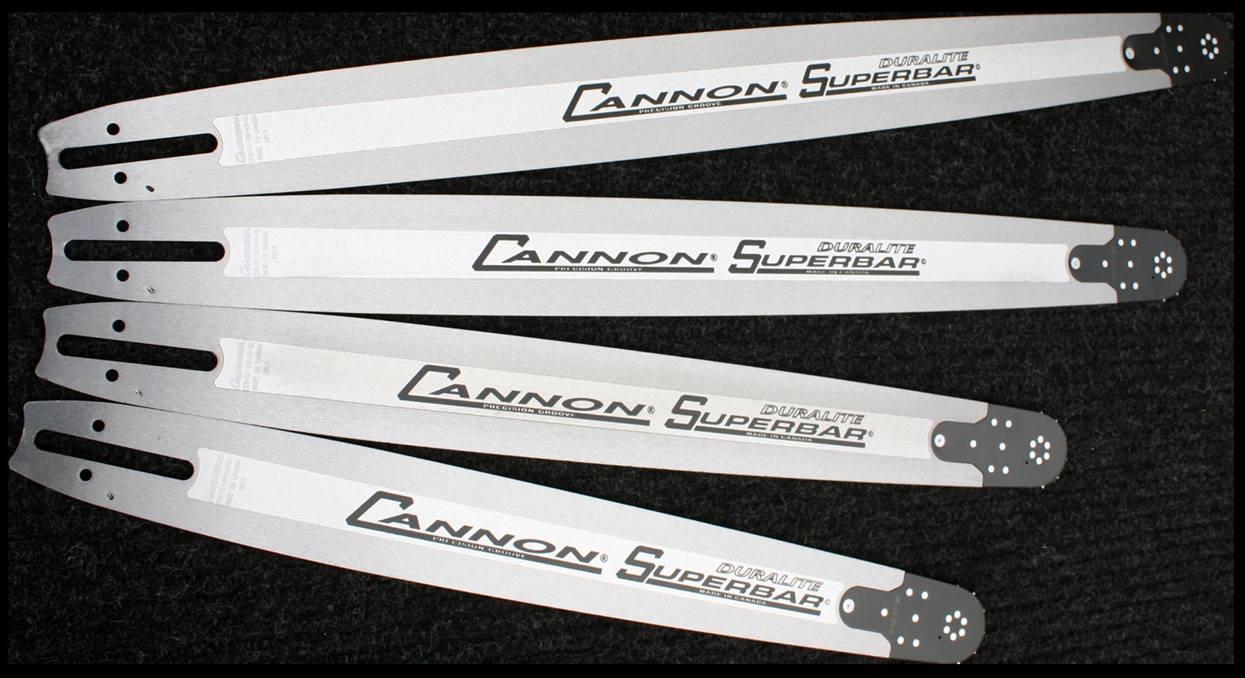 NEW Cannon Husqvarna Superbar 42 inch chainsaw bar 404 pitch .063 gauge